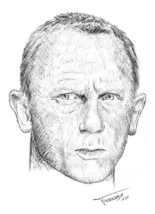 Daniel Craig by troncoman